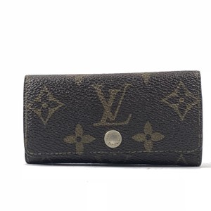Louis Vuitton Monogram 4 Ring Key Holder