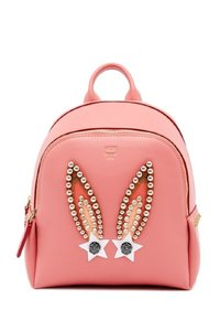 MCM Bunny Cute Studs Backpack