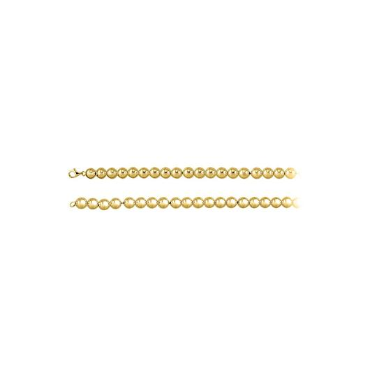 Preload https://img-static.tradesy.com/item/23416779/yellow-10mm-beads-chain-18k-gold-vermeil-necklace-0-0-540-540.jpg