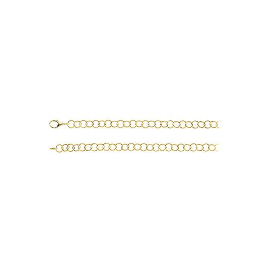 Preload https://img-static.tradesy.com/item/23416788/yellow-12mm-ring-link-silver-chain-in-18k-gold-vermeil-necklace-0-0-540-540.jpg