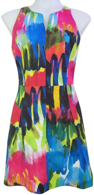 Preload https://img-static.tradesy.com/item/23416835/milly-multicolor-mid-length-cocktail-dress-size-6-s-0-1-650-650.jpg