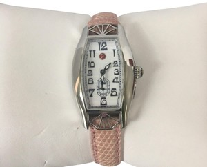 Michelle K Pink Leather Band