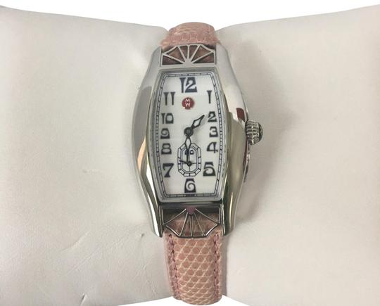 Preload https://img-static.tradesy.com/item/23416903/michelle-k-pink-leather-band-watch-0-2-540-540.jpg