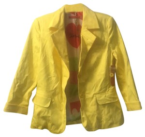 Alice + Olivia yellow Blazer