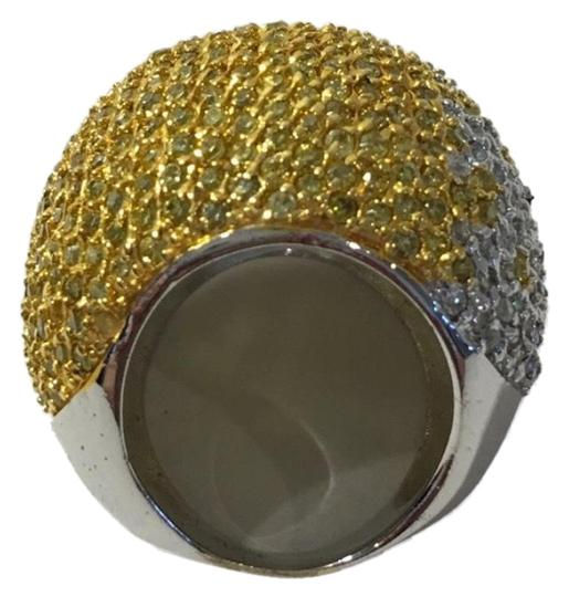 Preload https://img-static.tradesy.com/item/23416973/noir-ombre-yellow-and-white-silvertone-pave-cz-dome-statement-ring-0-1-540-540.jpg