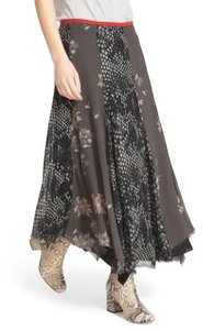 Free People Tattered Maxi Skirt