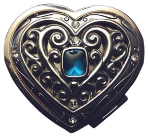 Brighton New Azure Heart Double Sided Mirror Compact