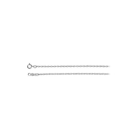 Preload https://img-static.tradesy.com/item/23417026/white-14k-gold-125mm-rope-chain-necklace-0-0-540-540.jpg