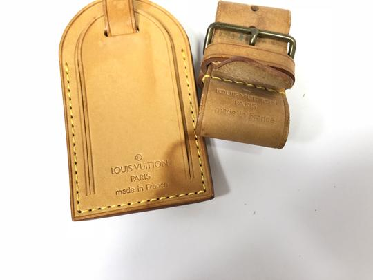 Louis Vuitton Louis Vuitton Luggage Name Tag and Poignet Set