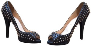 Christian Louboutin Spiked Black Pumps