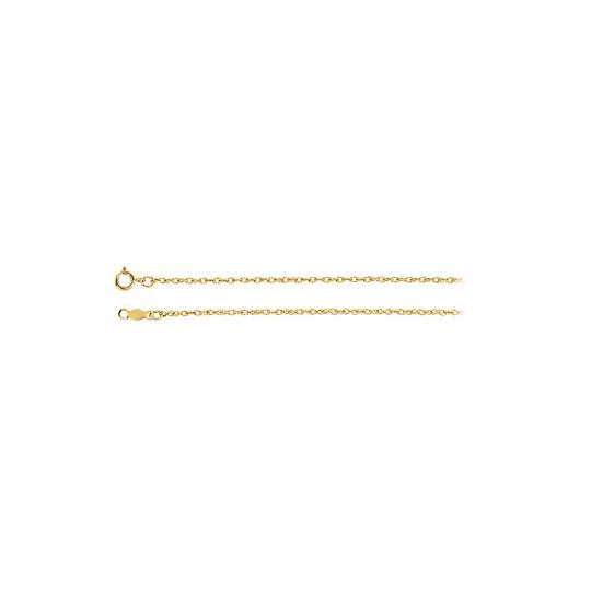 Preload https://img-static.tradesy.com/item/23417110/yellow-14k-gold-125mm-rope-chain-necklace-0-0-540-540.jpg