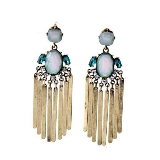 Private Collection Stratosphere Iridescent Stone Statement Earrings