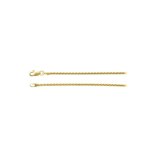 Preload https://img-static.tradesy.com/item/23417137/yellow-14k-gold-15mm-wheat-chain-necklace-0-0-540-540.jpg