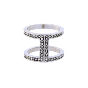 Private Collection Silver Pave Open Ring