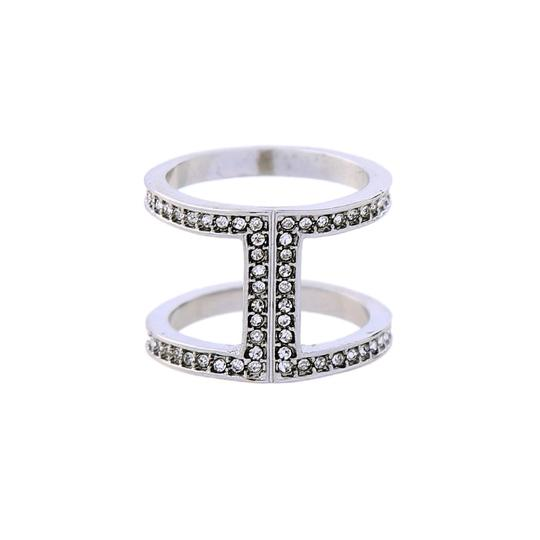 Preload https://img-static.tradesy.com/item/23417177/silver-pave-open-ring-0-0-540-540.jpg