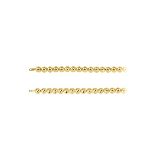 Preload https://img-static.tradesy.com/item/23417205/yellow-14mm-beads-chain-18k-gold-vermeil-necklace-0-0-540-540.jpg