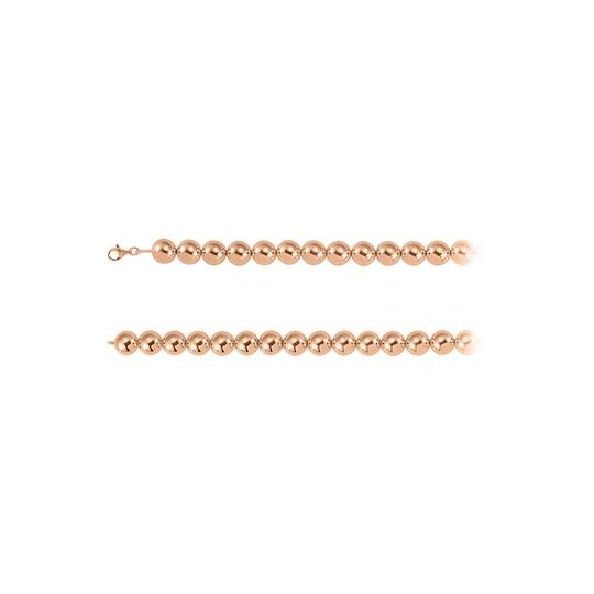Preload https://img-static.tradesy.com/item/23417216/pink-16mm-beads-chain-14k-rose-gold-vermeil-necklace-0-0-540-540.jpg