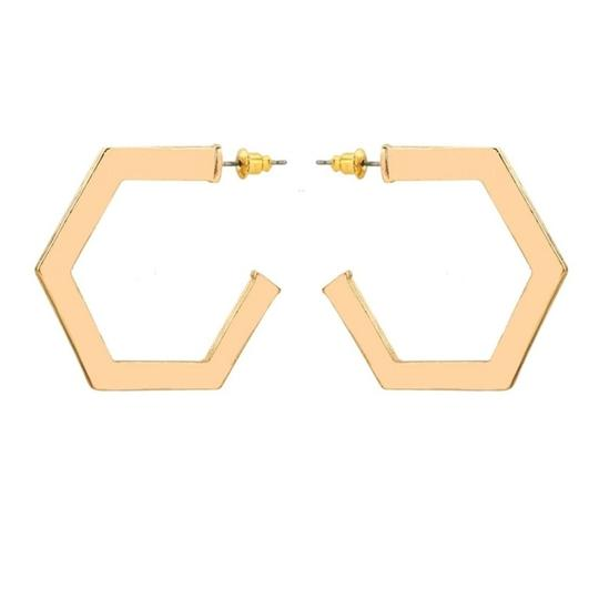 Preload https://img-static.tradesy.com/item/23417218/gold-octagonal-hoop-earrings-0-0-540-540.jpg