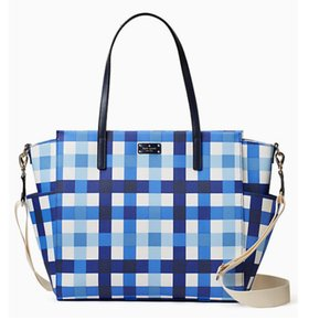Kate Spade New With Blue & White Diaper Bag