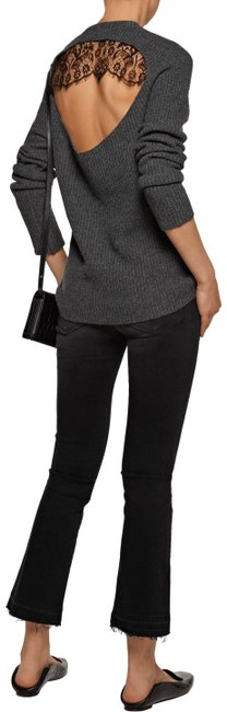 Preload https://img-static.tradesy.com/item/23417232/alc-peter-cutout-lace-ribbed-cashmere-blend-gray-sweater-0-2-650-650.jpg