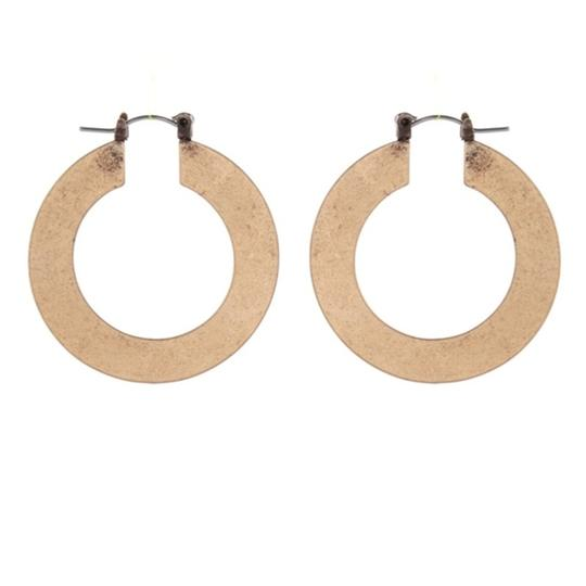 Private Collection Ancient Gold Hoop Earrings