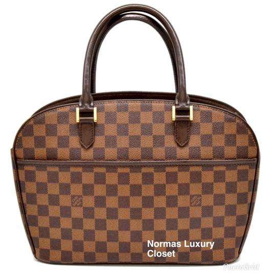 Preload https://img-static.tradesy.com/item/23417271/louis-vuitton-sarria-horizontal-brown-damier-canvas-and-leather-satchel-0-0-540-540.jpg