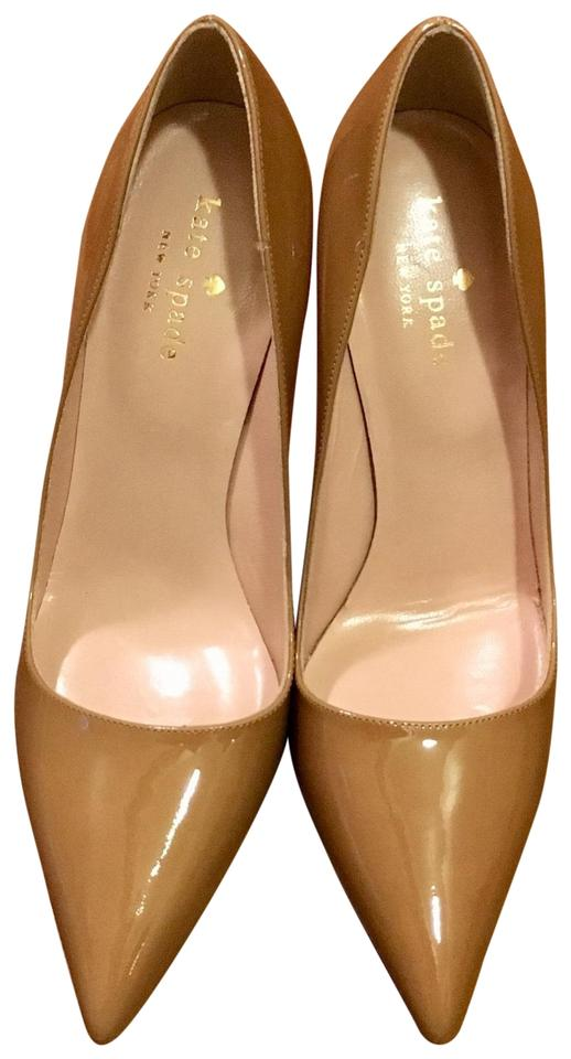 fb75d1ee6 Kate Spade New Camel Licorice Pumps Size US 6 Regular (M, B) - Tradesy