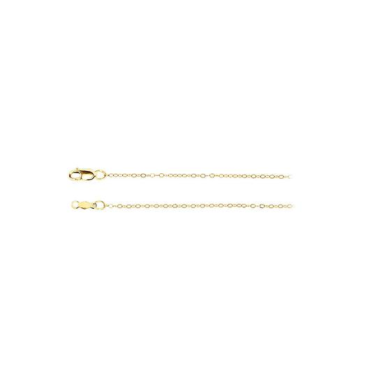 Preload https://img-static.tradesy.com/item/23417461/yellow-1mm-14k-gold-curb-chain-necklace-0-0-540-540.jpg