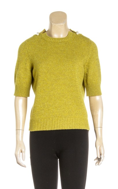 Preload https://img-static.tradesy.com/item/23417969/yellow-sleeve-cashmere-38-482693-tee-shirt-size-18-xl-plus-0x-0-0-650-650.jpg