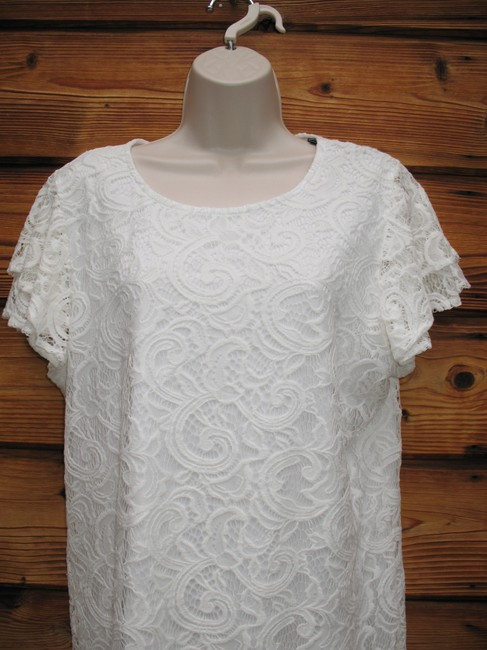 Adrianna Papell Top White