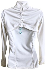 Athleta Thumbholes Ruching Jacket Tennis Jacket Love Jacket