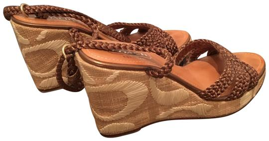 Preload https://img-static.tradesy.com/item/23418052/coach-1941-copper-and-woven-raffia-logo-wedges-size-us-8-regular-m-b-0-1-540-540.jpg