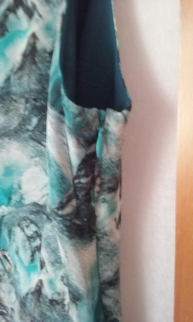ONE by Contrarian short dress blue Silk on Tradesy