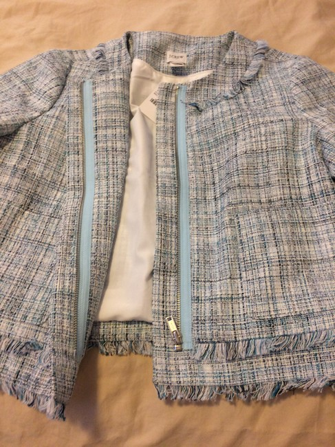 J.Crew Light Blue Melange Blazer