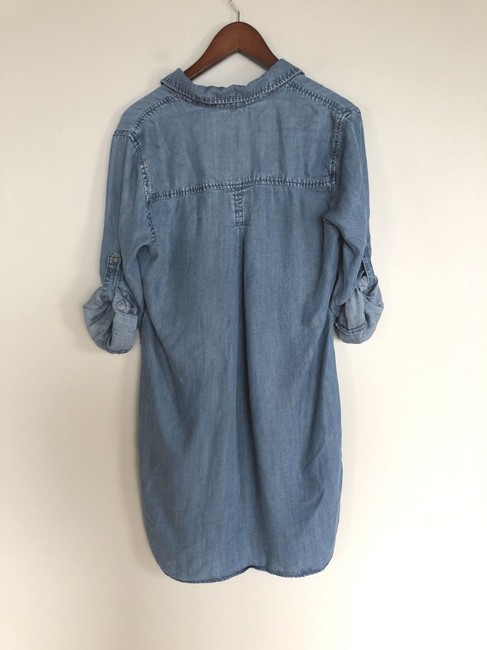 Cloth & Stone short dress Blue on Tradesy