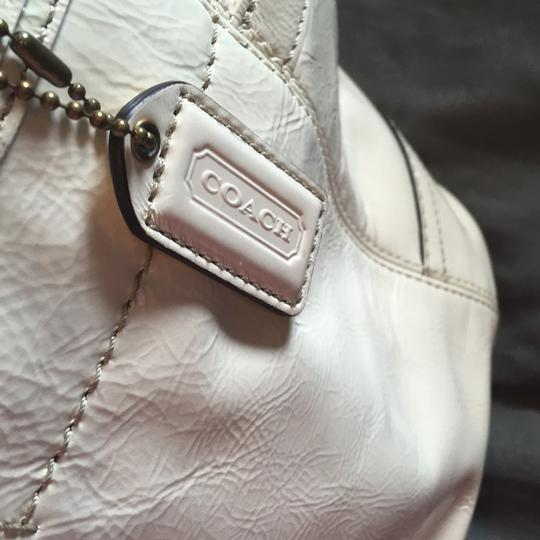 Coach Tote in Chalk White