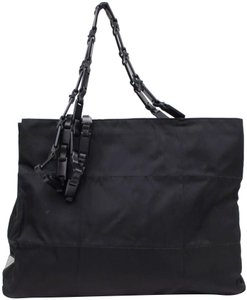 9854f25c8ff8 Added to Shopping Bag. Prada Tote in Black. Prada Tessuto Chain Black Nylon  Tote
