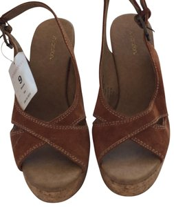 b033f1621ac5a9 Xhilaration Tan. Suede look upper and cork look sole. Mules