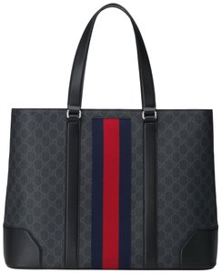 Gucci Supreme Web Gg Supreme Web Gg Supreme Canvas Tote