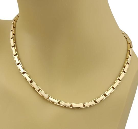 Preload https://item2.tradesy.com/images/cartier-agrafe-18k-yellow-gold-front-clasp-long-box-link-paper-necklace-23418611-0-1.jpg?width=440&height=440