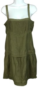 NAF NAF short dress Olive Green Shift on Tradesy