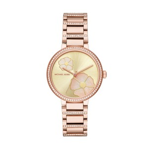 Michael Kors $275 NWT Michael Kors Courtney Rose Gold-Tone Watch MK3836