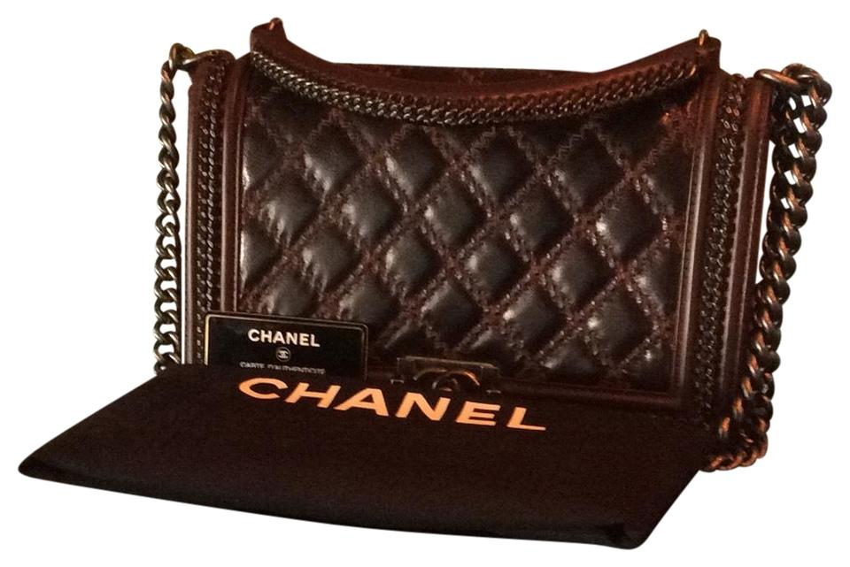 f208c25afab6 Chanel Boy Large Paris-salzburg Chain with Handle Black Calf Leather ...