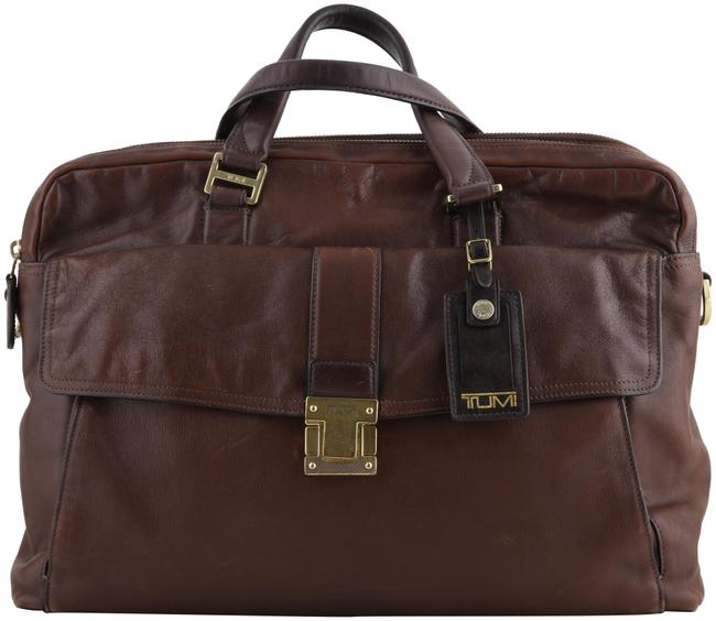 Item - Beacon Hill Chestnut Brief Brown Leather Laptop Bag
