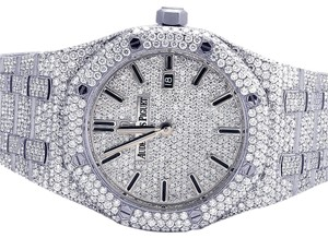 Audemars Piguet Ladies Royal Oak 33MM Full VS Diamond 21.35 Ct