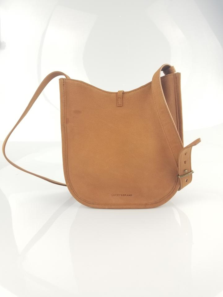 Lucky Brand Leather Tassle Saddle Tote Cross Body Bag. 1234567891011 d54118742f