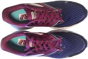 Brooks Cushion Neutral Distance Lightweight Running Blue and purple Athletic