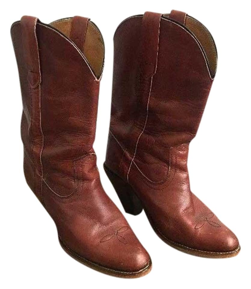 d66c2a596a1 Frye Brown Vintage 7893 Boots/Booties Size US 7.5 Regular (M, B)