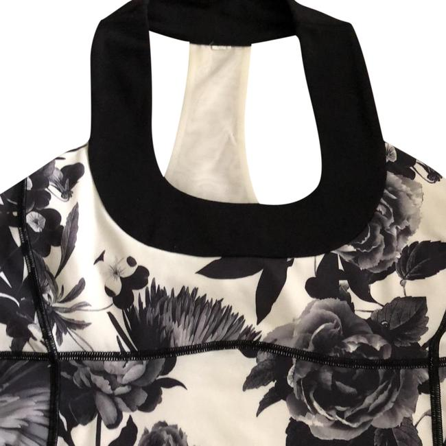 Item - Black and Grey Halter Top Size 8 (M)