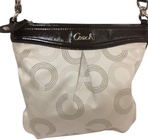Coach Ashley Op Art Rare Hobo Bag
